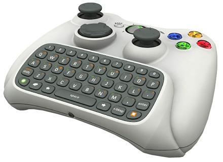 xbox 360 klavyeli gamepad