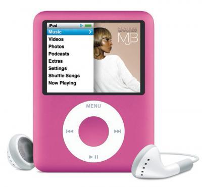 iPod nano Pembe